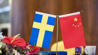 Китай в Швеции