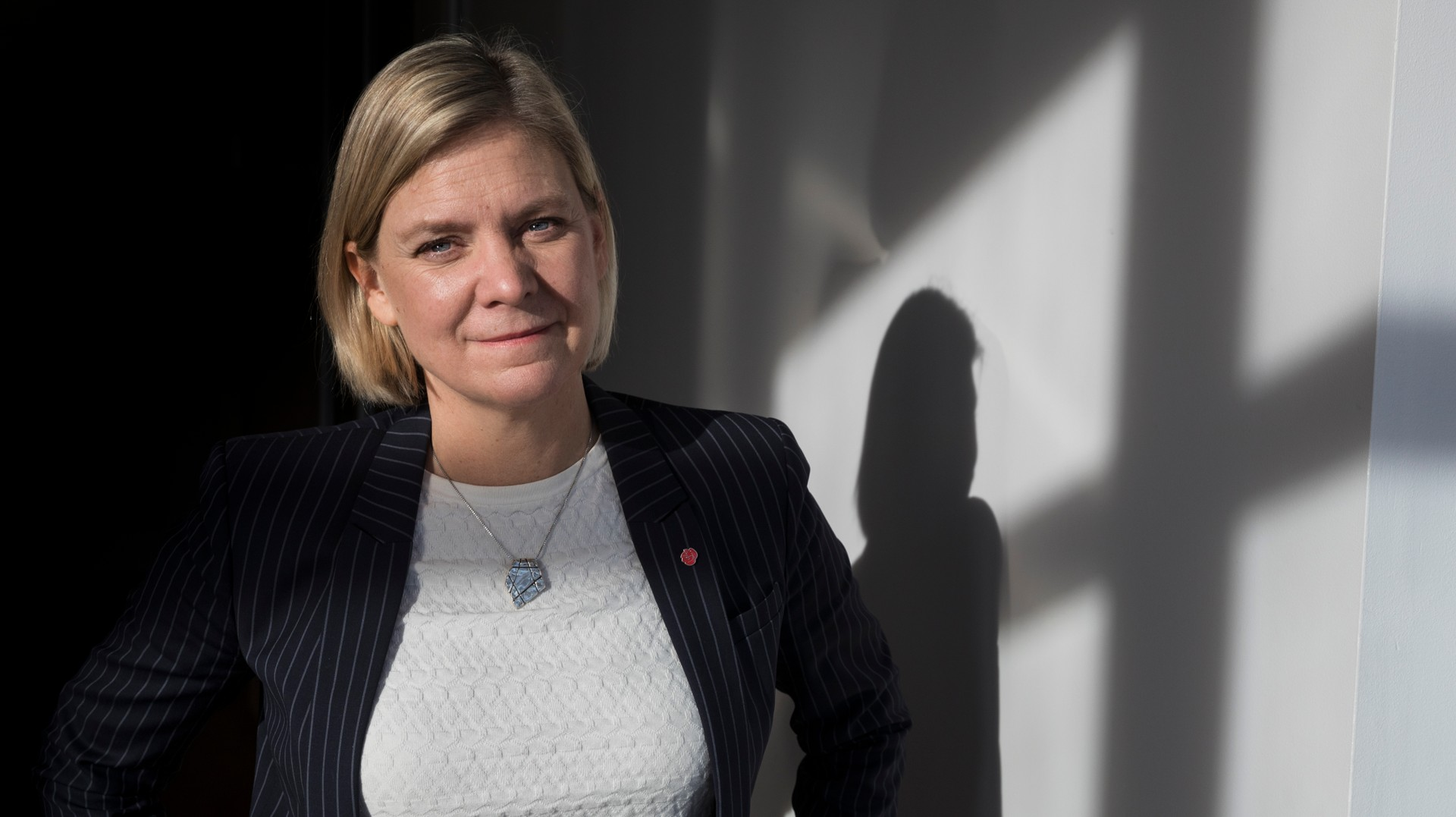 министра финансов Швеции Магдалены Андерссон