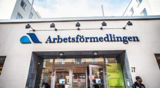 безработных в Швеции