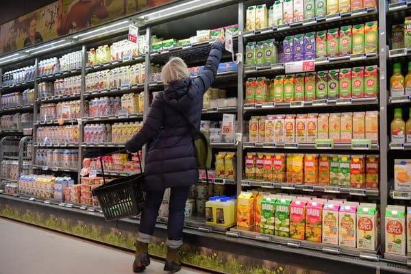 Цены на продукты питания в Швеции