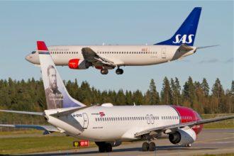 SAS и Norwegian